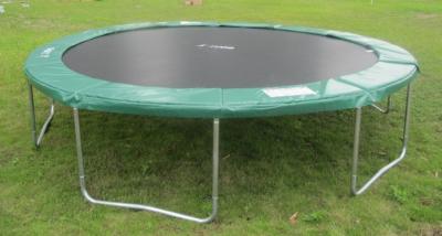 bodyswiss swissplate profi trampolin xl396 13ft mit netz. Black Bedroom Furniture Sets. Home Design Ideas