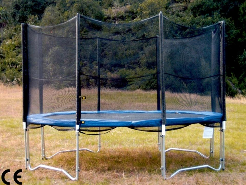 bodyswiss swissplate profi trampolin xl396 13ft mit netz. Black Bedroom Furniture Sets. Home Design Ideas